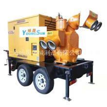 1200立方防汛移动泵车 大流量柴油机泵组 1200立方防汛移动泵车厂图片