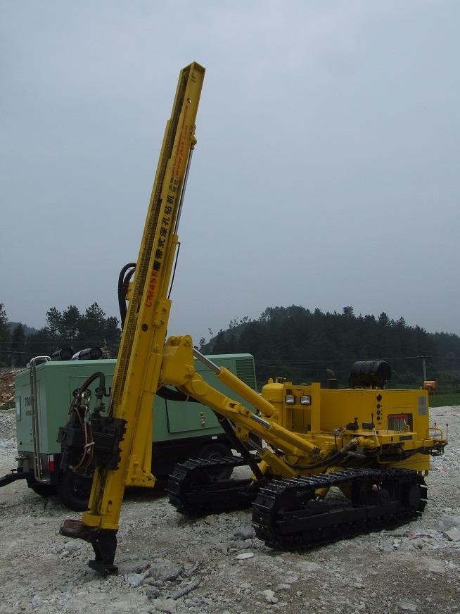 宣化金科CM458履带式大扭矩深孔钻机 CM458履带式深孔钻机 CM458履带式钻机 CM458基坑锚索钻机