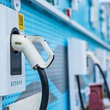 厂家出售小区智能充电桩新能源电动充电桩 学校商场充电桩图片